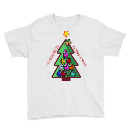 Christmas Among Us Youth Tee Designed By Alanz