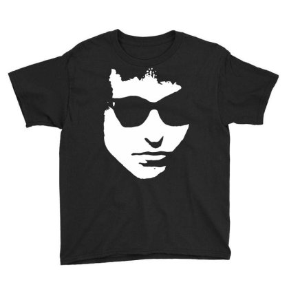 Sunglass Bob Dylan Youth Tee Designed By Focus Tees