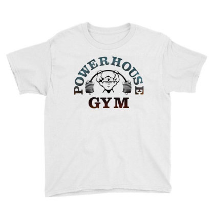 Bodybuilding Power House Gym For Light Youth Tee Designed By Focus Tees