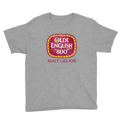 Olde English Youth Tee Designed By Marmbroks
