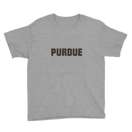 Purdue University Hooded Youth Tee Designed By Marmbroks