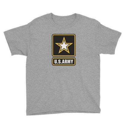 Us Army Logo Youth Tee Designed By Marmbroks