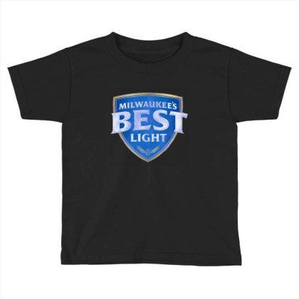 Milwaukee's Best Light Toddler T-shirt Designed By Bilnesa