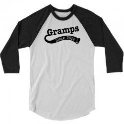 Gramps Since 2014 3/4 Sleeve Shirt | Artistshot