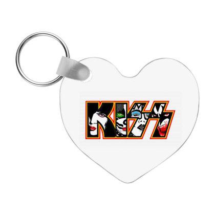 Kiss Band Road Of Tour Frp Heart Keychain Designed By Aris Ferdinan