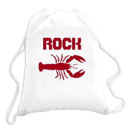 Rock Lobster Drawstring Bags Designed By Blackstone