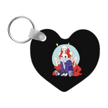 Christmas Cute Skull Frp Heart Keychain Designed By Coşkun