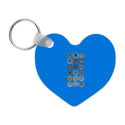 Work Wheels Best Quality Frp Heart Keychain Designed By Galuh