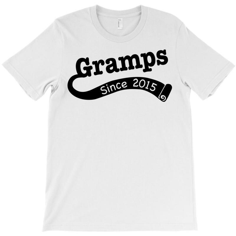 Gramps Since 2015 T-shirt | Artistshot