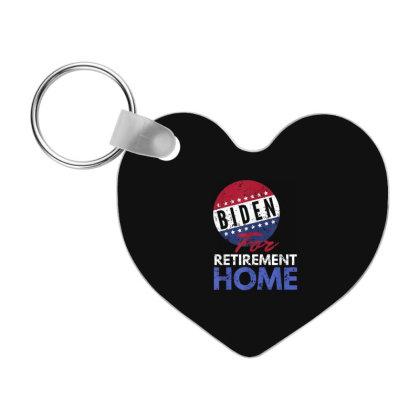 Biden For Retirement Home Frp Heart Keychain Designed By Koopshawneen