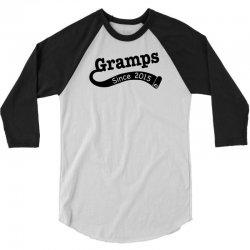 Gramps Since 2015 3/4 Sleeve Shirt | Artistshot
