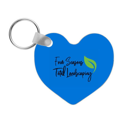 Four Seasons Total Landscaping Merch Frp Heart Keychain Designed By Galuh