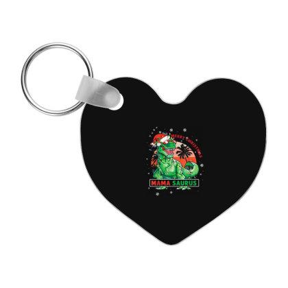 Christmas Mamasaurus Frp Heart Keychain Designed By Koopshawneen