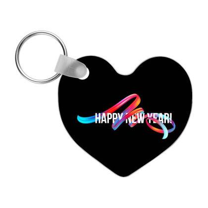 Happy New Year Frp Heart Keychain Designed By Coşkun