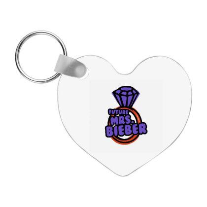 Future Mrs Bieber Frp Heart Keychain Designed By Hilda Pertiwi