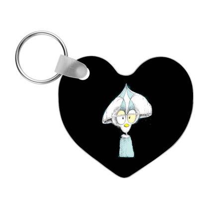 Cute Animal Cartoon Frp Heart Keychain Designed By Coşkun