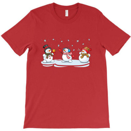 Funny Snowman Christmas T-shirt Designed By Şen