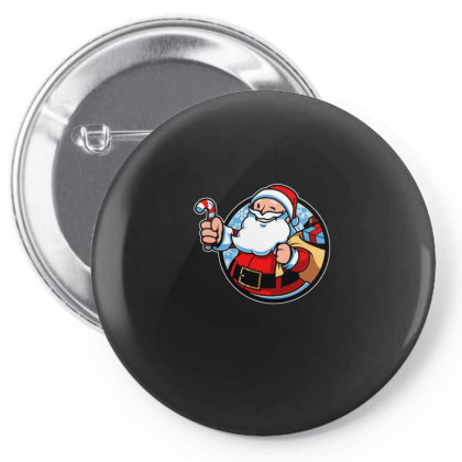 Xmas Boy Christmas Pin-back Button Designed By Blackstone