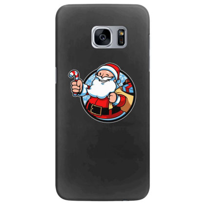 Xmas Boy Christmas Samsung Galaxy S7 Edge Case Designed By Blackstone