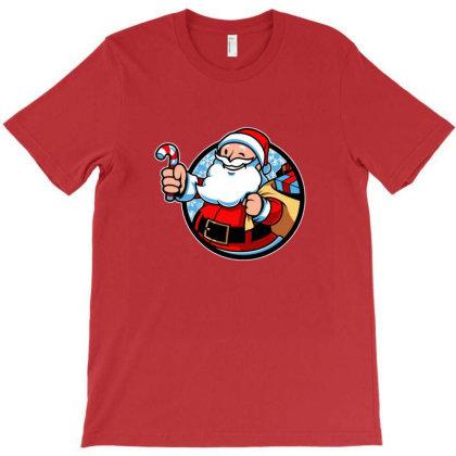 Xmas Boy Christmas T-shirt Designed By Blackstone