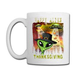 Happy Alien Thanksgiving Coffee Mug Designed By Qudkin