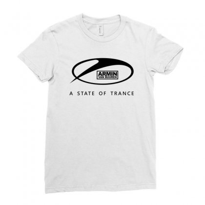 New Dj Armin Van Buuren A State Of Trance Ladies Fitted T-shirt Designed By Jafarnr1966