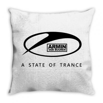 New Dj Armin Van Buuren A State Of Trance Throw Pillow Designed By Jafarnr1966