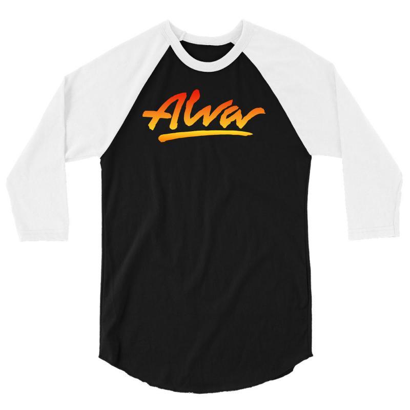 New Alva Skateboard Skate Decks Logo 3/4 Sleeve Shirt   Artistshot