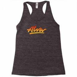new alva skateboard skate decks logo Racerback Tank   Artistshot