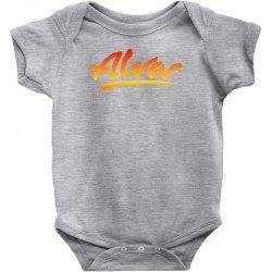 new alva skateboard skate decks logo Baby Bodysuit | Artistshot