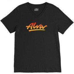 new alva skateboard skate decks logo V-Neck Tee | Artistshot
