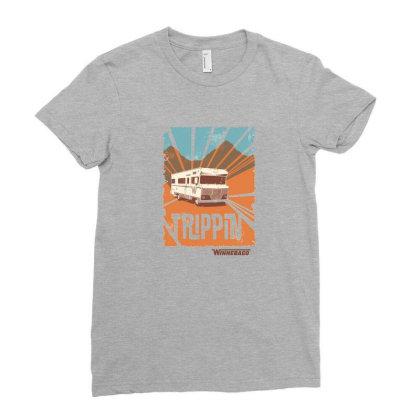 Winnebago Ladies Fitted T-shirt Designed By Etwpen