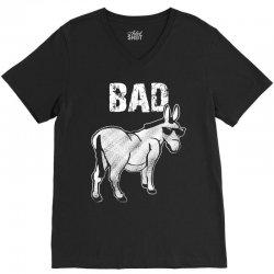 bad donkey V-Neck Tee   Artistshot