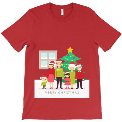Family Happy Christmas T-shirt Designed By Şen