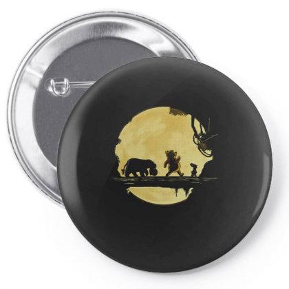 Hakuna Winnie Pin-back Button Designed By Koopshawneen