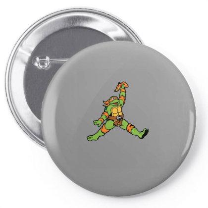 Air Ninja Pin-back Button Designed By Blackstone