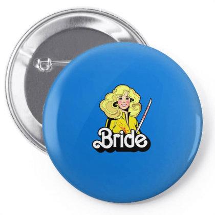 Bride Pin-back Button Designed By Blackstone