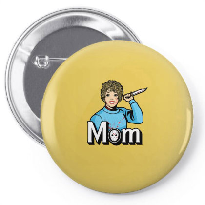 Mom Pin-back Button Designed By Blackstone