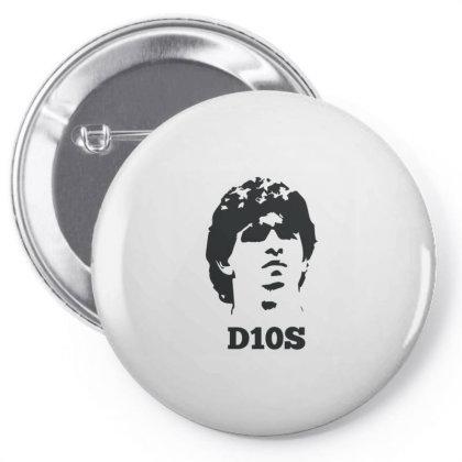 Diego Armando Maradona Franco Pin-back Button Designed By Coşkun