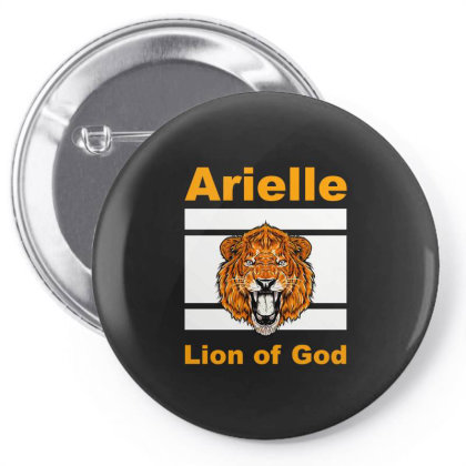 Arielle Lion Of God Lc Classic T Shirt Pin-back Button Designed By Blackheart