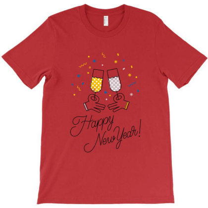 Happy New Year T-shirt Designed By Şen