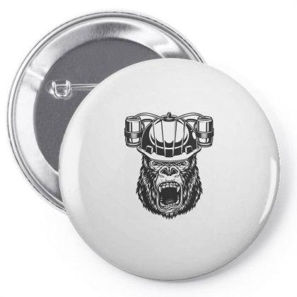 Gorilla Monkey Pin-back Button Designed By Estore