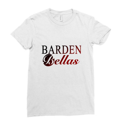 Barden Bellas Pitch Perfect Graphic Movie Ladies Fitted T-shirt Designed By Blackheart
