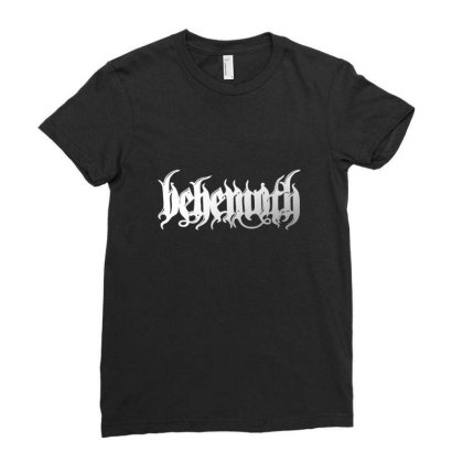 Behemoth Classic T Shirt Ladies Fitted T-shirt Designed By Blackheart