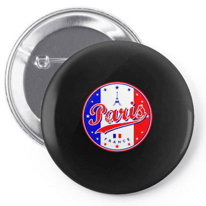 Paris Pin-back Button Designed By Zig Street