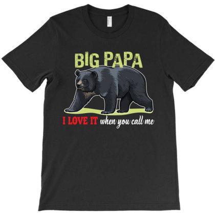 Big Papa T-shirt Designed By Rardesign