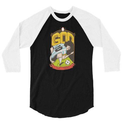 Maradona 2 3/4 Sleeve Shirt Designed By Coşkun