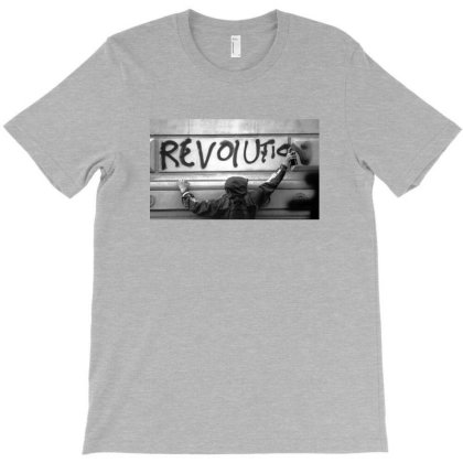 Revolution T-shirt Designed By Manyprints