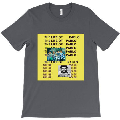 The Life Of Pablo T-shirt Designed By Manyprints