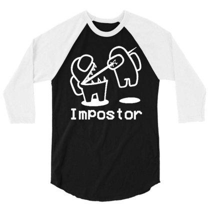 Killer Impostor 3/4 Sleeve Shirt Designed By Lyly
